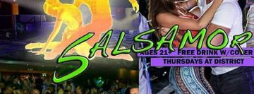 Salsamor! Hawaii's Biggest Salsa Night at District Nightclub