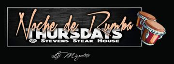 Noche De Rumba Salsa Dancing at Stevens Steak House