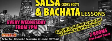 Wednesdays in Moorgate Salsa & Bachata