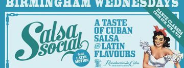 LatinMotion Wednesday Cuban Salsa Social & Latin Party