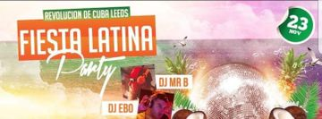 Fiesta Latina Every Friday Night At Revolucion De Cuba