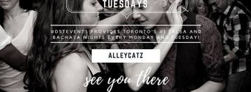 Bachata Night Tuesdays at Alleycatz