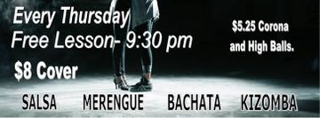 Salsa Bachata Thursday's at Rio Bar and Grill
