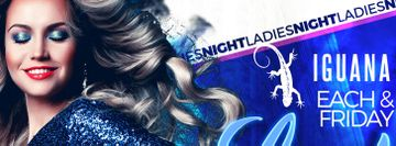 Ladies Night Friday Latin Club @ Iguana