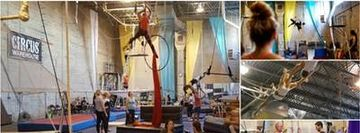 Private Flying Trapeze Class @ Circus Warehouse, NYC Circus Training Center