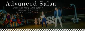 Advanced Salsa with Eduardo and Jenny!