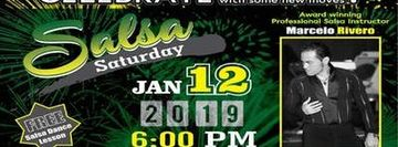 Celebrate New Year with Salsa Dance Every Saturday