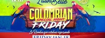 "COLOMBIAN FRIDAY ""Special Night"""