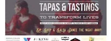 Tapas & Tastings to Transform Lives - Fundraiser for YMCA Camp Orkila