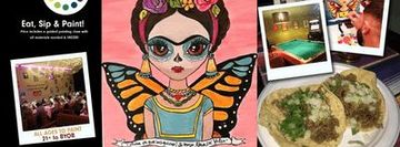 Museica's BYOB Dine & Paint - Butterfly Frida (Taco Tuesday!)