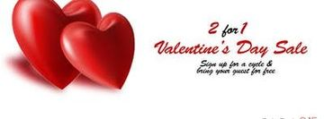 2 FOR 1 DANCE CLASSES - VALENTINE SALE