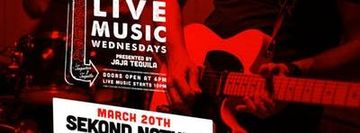 Live Music by Sekond Nature (& FREE cocktail) at Bodega Taqueria y Tequila