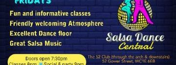 Fun, Fantastic Salsa Dance Classes