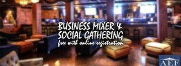 Free Business Mixer & Social Gathering