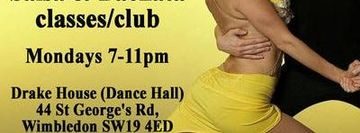 Wimbledon Salsa & Bachata Club every Monday