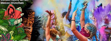 HOLI FESTIVAL OF COLOURS MUNCHEN 2019
