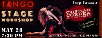 Stage Tango Workshop by Cristian Correa and Leah Barsky