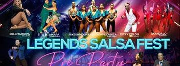 Legends Salsa Fest Pre-Party & Free Salsa Lesson at 9:30PM