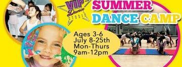Summer Dance Camp at VIP Ages 3-6
