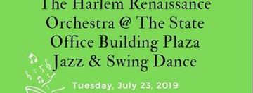 West Harlem Arts & Jazz Fest: The Harlem Renaissance Orchestra @ The State Office Building