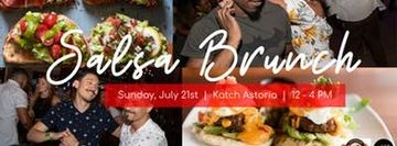 Salsa Brunch at Katch Astoria