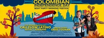 Yeras Colombian Independence Day Boat Party NYC w/ CALI FLOW LATINO