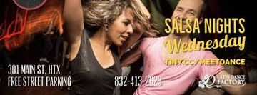 Free Tropical Salsa Wednesday Social @ Fabian's Latin Flavors 07/24