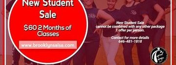 SALSA Dance Classes NEW STUDENT SALE -BKLYN Starts Sept 21 @ 4pm