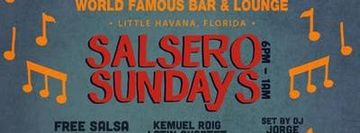 Salsero Sundays at Ball and Chain featuring Dj Charun from the Miami Salsa Scene