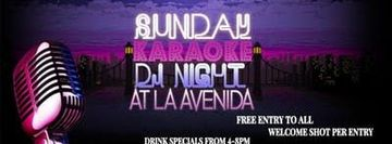 Sunday Karaoke DJ Night