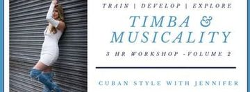 Timba Musicality Workshop with Jennifer White - Volume 2.