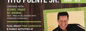 Tito Puente Jr and more Sept 29, FREE