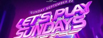Lets Play Sundays with DJ Camilo. The #1 Sunday Party in NYC. Ladies Free!