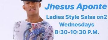 Jhesus Aponte Lady's Style Salsa on2 Training