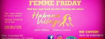 Habana Village Comedy Nights - Femme Friday