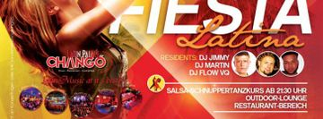 Fiesta Latina Saturdays at Latin Palace Chango