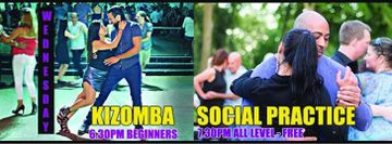 Wednesdays - Kizomba beginners Class & Free Social Practice