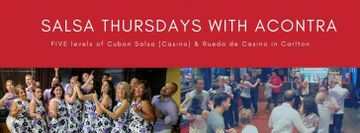Salsa Thursdays with AContra