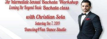 Sensual Bachata Workshop with Christian Sola at D4F Studio