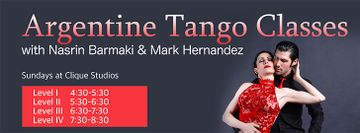 Argentine Tango level 3 Class by Nasrin Barmaki & Mark hernandez