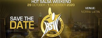 Save the date! Hot Salsa Weekend 2020, 29 oct - 1 november!