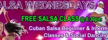 CLASSES SUSPENDED - NO BRUNSWICK Cuban Salsa Classes until further notice