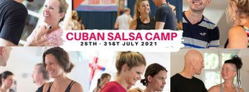 Cuban Salsa Camp 2021 in Denmark from 25th - 31st of July