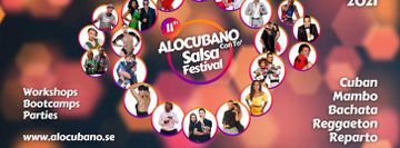 11th Alocubano Salsa Festival 2021 Stockholm 07-10 October